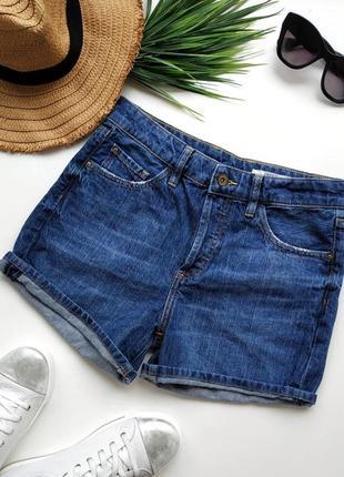 Классные джинсовые шорты с высокой посадкой esprit.
