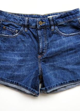 Классные джинсовые шорты с высокой посадкой esprit.2 фото