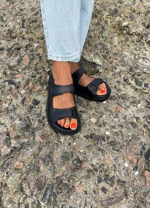 Босоножки сандалии натуральная кожа замша