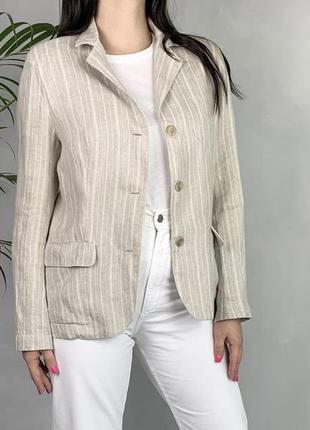 Пиджак льняной 100% лён