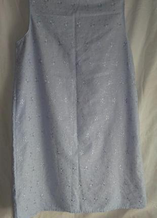 Красивая  фирменная ночнушка голубого цвета