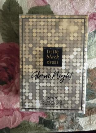 Парфюмированная вода little black dress glam night