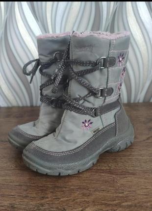 Сапоги сапожки чоботи чобітки superfit gore-tex