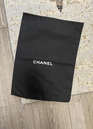 Пыльник chanel оригинал чёрный для сумки