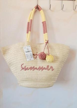Пляжная сумка подростковая