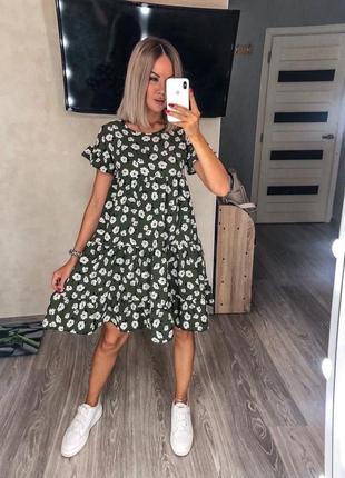 Короткое платье свободное. платье до колен
