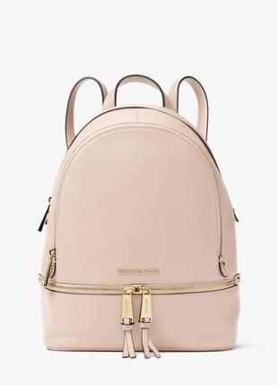 Рюкзак michael kors rhea medium leather backpack оригинал