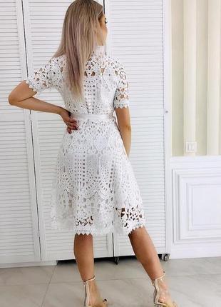 Платье хлопковое3 фото