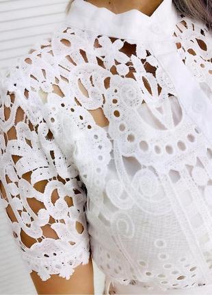 Платье хлопковое4 фото