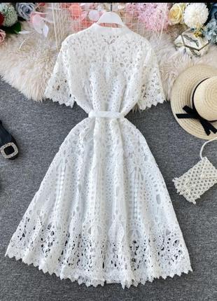 Платье хлопковое6 фото