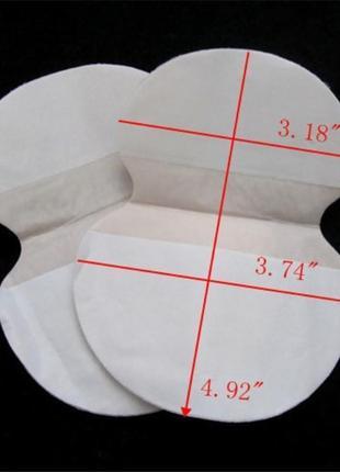Вкладыши для защиты от пота в одежду3 фото