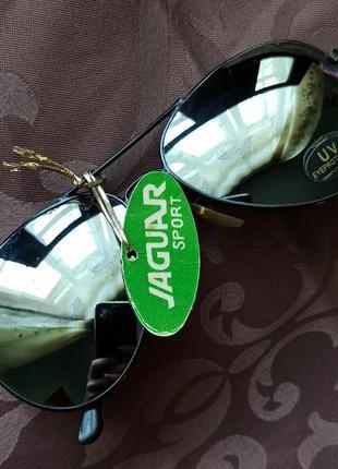 Очки авиаторы зеркальные винтаж, ретро1 фото