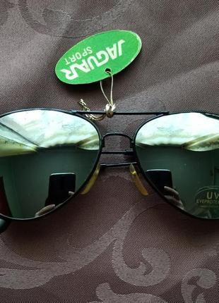 Очки авиаторы зеркальные винтаж, ретро2 фото