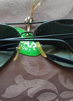 Очки авиаторы зеркальные винтаж, ретро3 фото