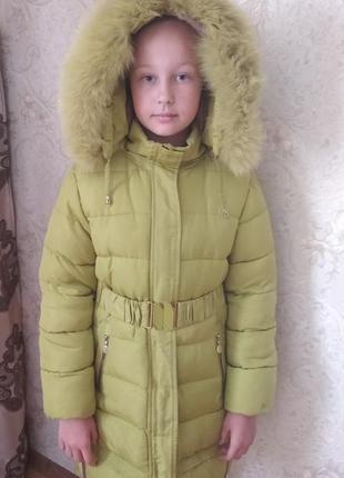 Зимова курточка на дівчинку 12 років