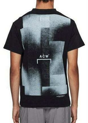 Футболка a-cold-wall tracer graphic t-shirt black
