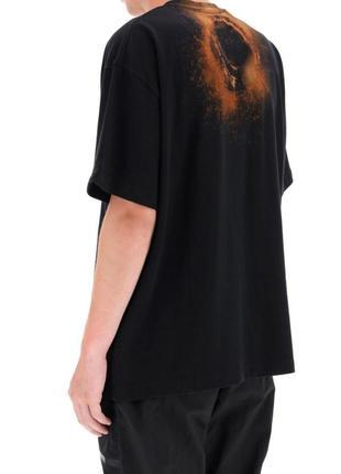 Футболка a-cold-wall* black erosion t-shirt black