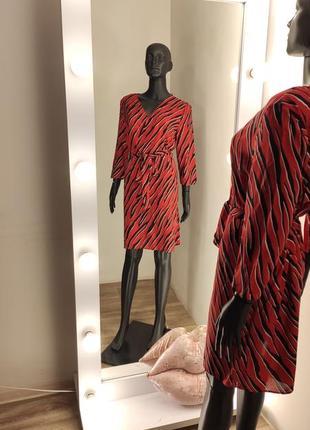 Трендовое  крутое платье в принт зебра💃