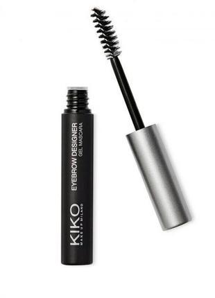 Гель фиксатор для бровей kiko milano eyebrow designer