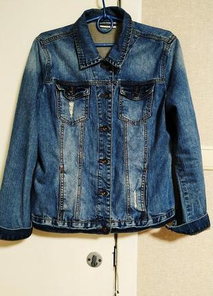 Yessika куртка джинсовая7 фото