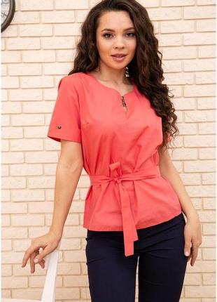 Блуза женская 172r30-1 цвет алый 55732