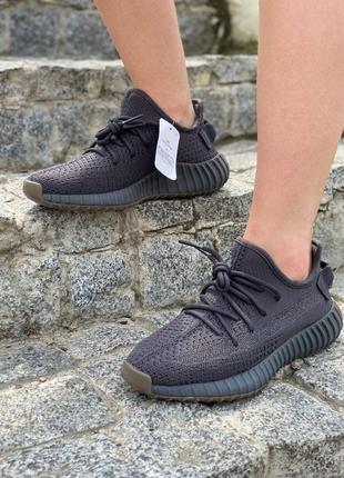 Женские кроссовки adidas yeezy boost v2 black reflective рефлектив полоса жіночі кросівки