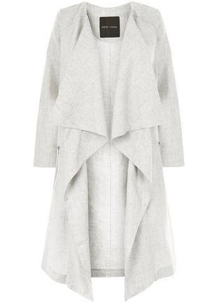 Новый с биркой кардиган жакет пиджак льняной new look размер 14