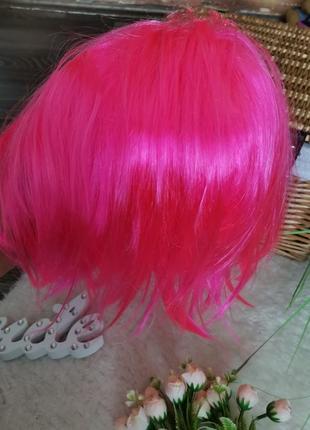 Розовый парик4 фото