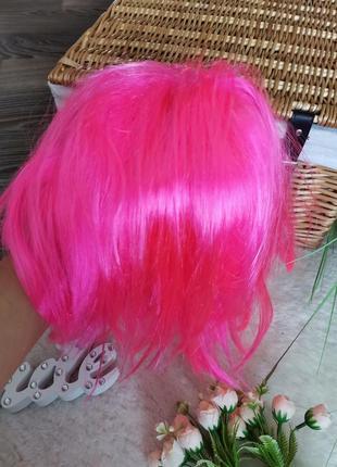 Розовый парик3 фото