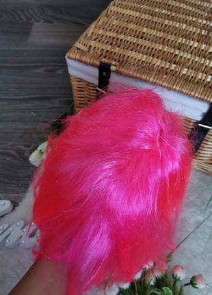 Розовый парик6 фото