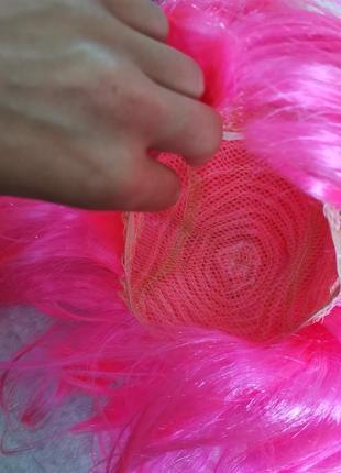 Розовый парик7 фото
