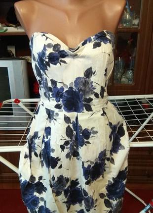 Красивое платье 42-44р.