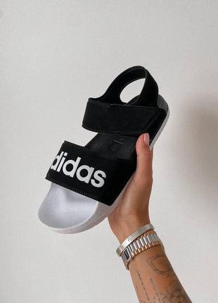 Босоножки slippers black