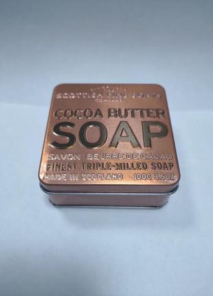 Мыло из шотландии в подарочной коробочке  scottish fine soaps