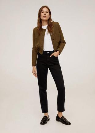 Джинсы slim mom, джинси маленькі, джинси жіночі базові, трендові.