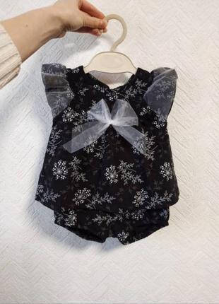 Комплект для девочки / летний набор / костюм