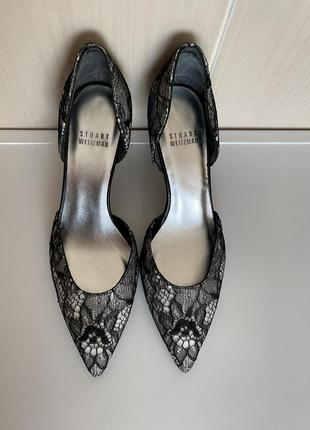Шикарные открытые туфли stuart weitzman