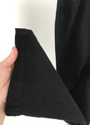Черные штаны, черные брюки, черные джинсы, straight leg 18 bonmarche.8 фото