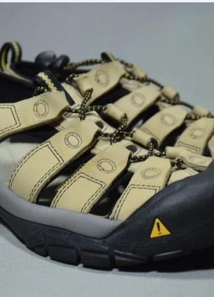 Keen newport bison сандалии босоножки трекинговые кожаные