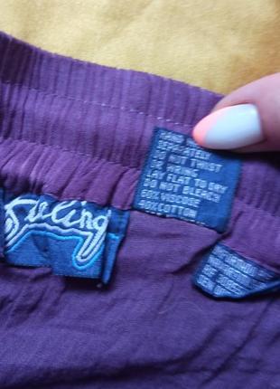 Темно-фіолетова спідниця 48-50р3 фото