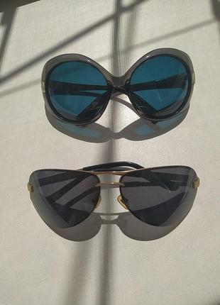 Очки поляризованные лот 2 ед. в стиле gucci