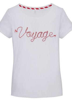 Стильная футболка в морском стиле германия2 фото