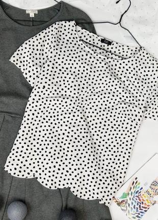 Блуза кофточка в горошек в горошок george2 фото