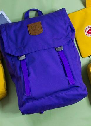 Рюкзак fjallraven foldsack no 1, спортивный, городской, туристический, портфель  фялравен фолдсак, спортивний, туристичний, канкен, kanken