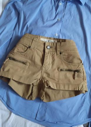 Стильные хлопковые мини шорты от h&m h & m