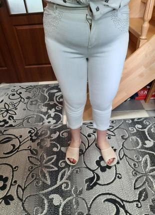 Штани джинси стрейчеві завужені