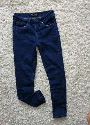 Красивые женские джинсы слим poppy 10 (38) в очень хорошем состоянии