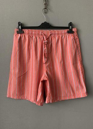 Marks & spenser мужские хлопковые шорты.
