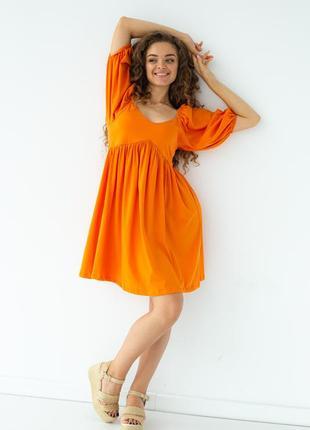 Ефектна красива коротка сукня, плаття з завишеною талією турция