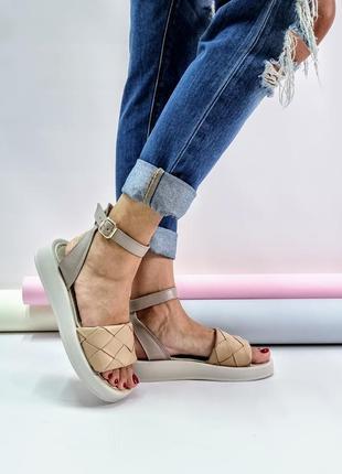 Босоножки натуральная кожа р36-40 сандалии туфли босоніжки сандалі туфлі